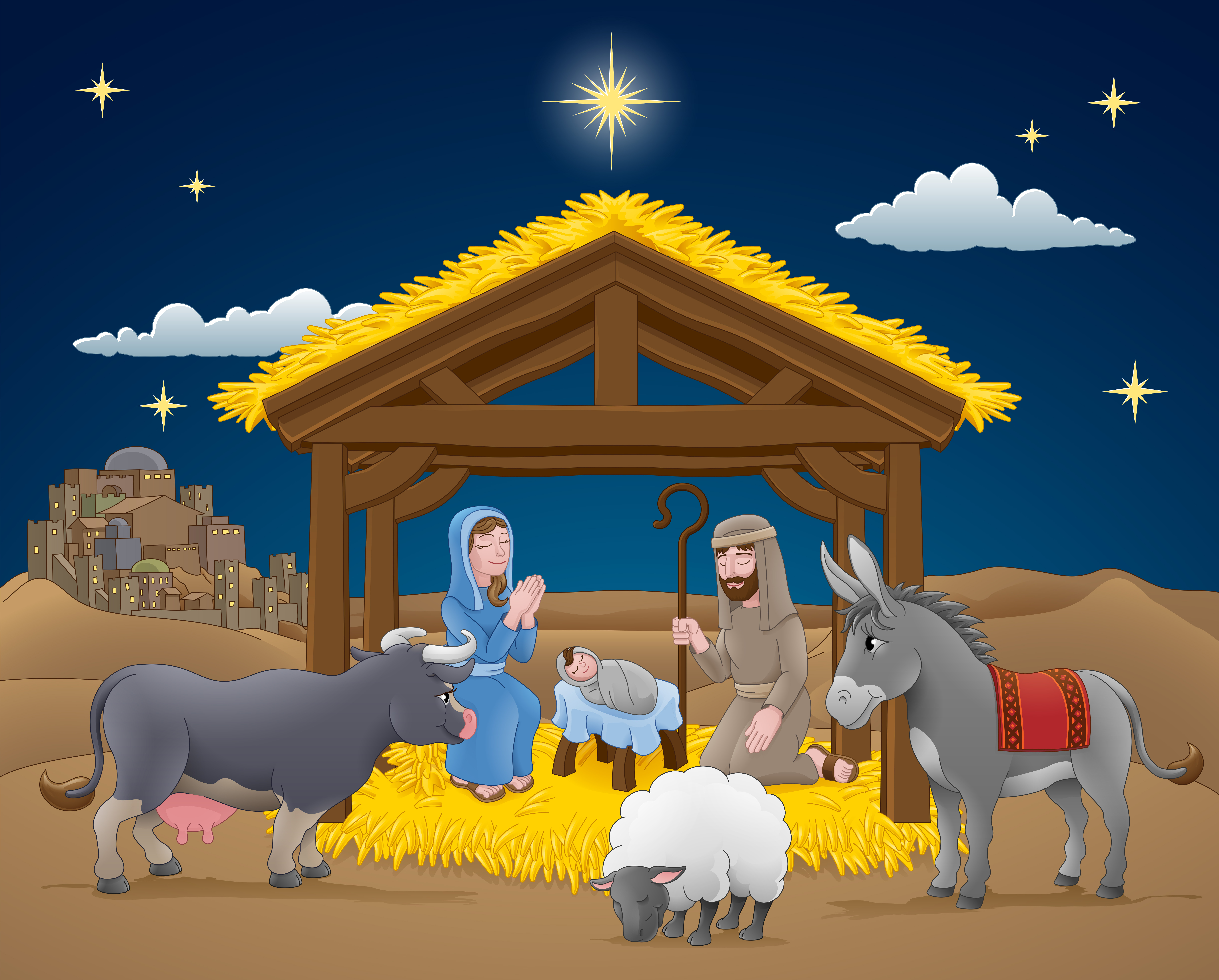 image about Twas the Night Before Jesus Came Printable known as Introduction and Xmas Childrens Sunday University Classes
